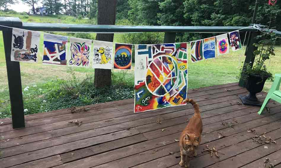 Art Circle Flags