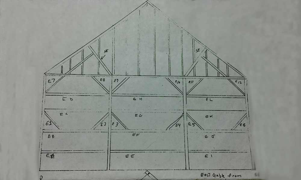 Barn Timbers Plan
